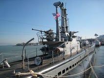 Pampanito sottomarino Fotografia Stock Libera da Diritti