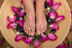 Pampered Feet Stock Photos