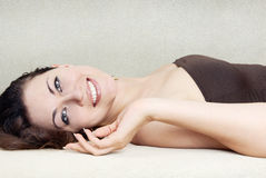 Pampering beauty Royalty Free Stock Photos