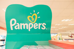pampers Royaltyfria Bilder