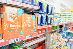 Pampers Royalty Free Stock Photography