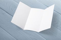 Pamphlet. Page print pad white layout letter head royalty free stock image
