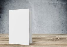 Pamphlet. Page print pad white layout letter head royalty free stock photos