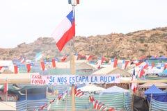 Pampilla de Coquimbo 2017 Imagen de archivo libre de regalías
