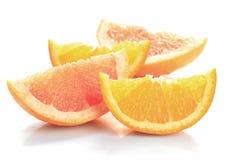 Pamplemousse et orange Photographie stock libre de droits
