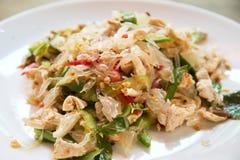 Salade de pamplemousse en Thaïlande Photos libres de droits