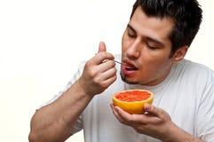 Pamplemousse mangeur d'hommes Photo libre de droits