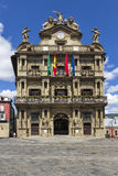 Pamplona city hall, Navarra, Spain Stock Photos