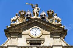Pamplona city hall, Navarra, Spain Royalty Free Stock Photos