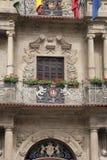 Pamplona City Hall, Navarra Stock Photo