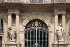 Pamplona City Hall, Navarra Stock Images