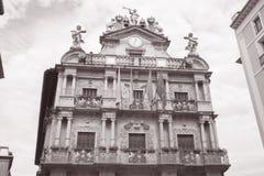 Pamplona City Hall, Navarra Royalty Free Stock Image