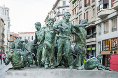 Pamplona, España Foto de archivo