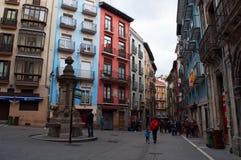 Pamplona, la Navarre, pays Basque, Espagne, l'Europe Photos stock