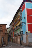 Pamplona, la Navarre, pays Basque, Espagne, l'Europe Image stock