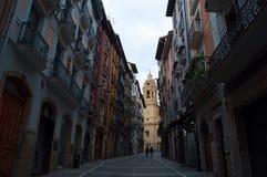 Pamplona, Navarre, Baskijski kraj, Hiszpania, Europa Obraz Royalty Free