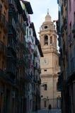 Pamplona, Navarre, Baskijski kraj, Hiszpania, Europa Zdjęcie Stock