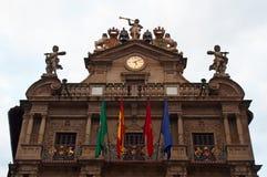 Pamplona, Navarre, Baskijski kraj, Hiszpania, Europa Zdjęcia Stock