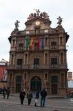Pamplona, Navarre, Baskijski kraj, Hiszpania, Europa Obrazy Royalty Free