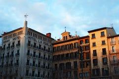 Pamplona, Navarre, Baskijski kraj, Hiszpania, Północny Hiszpania, Iberyjski półwysep, Europa Obraz Stock