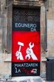 Pamplona Navarre, baskiskt land, Spanien, Europa Arkivfoto