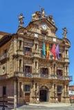 Pamplona rada miasta, Hiszpania fotografia stock