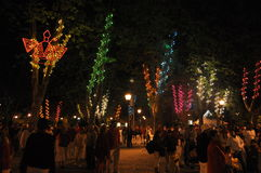 Pamplona - San Fermin Festival Stock Afbeelding