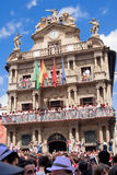 PAMPLONA, SPAIN -JULY 6 Stock Images