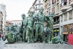 Pamplona, Spanje Stock Foto