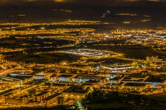 Pamplona-Stadt Lizenzfreies Stockfoto