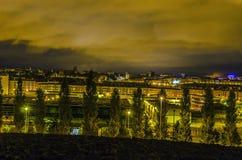 Pamplona-Stadt Stockbild