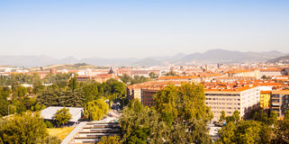 Pamplona in sunny day Stock Photography
