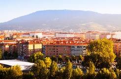 Pamplona in sunny summer  day Stock Image