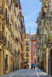 pamplona ulica Spain fotografia royalty free