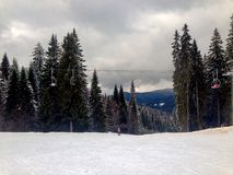 Pamporovo, Bulgaria Royalty Free Stock Images
