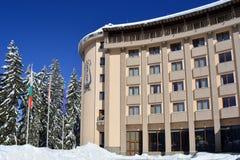PAMPOROVO, BULGARIEN - 11. MÄRZ 2015: Hotel Orpheus Stockbilder