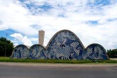 Pampulha-Kirche Lizenzfreies Stockfoto