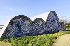 Pampulha kościół w Belo horizonte, Brazil zdjęcia stock