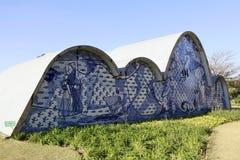 Pampulha kościół w Belo horizonte, Brazil Zdjęcie Stock