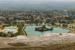 Pamukkale,土耳其 图库摄影