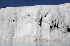 pamukkale τραβερτίνης λιμνών Στοκ Εικόνες