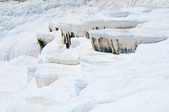 Pamukkale, φυσική περιοχή στην επαρχία Denizli στη νοτιοδυτική Τουρκία Στοκ Φωτογραφίες