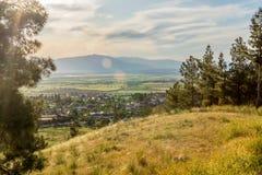 Pamukkale и окрестности Стоковая Фотография RF