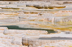Pamukkale - террасы травертина Стоковая Фотография