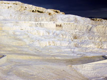 Pamukkale. Cotton city in Turkey. Begin of thunder Stock Image