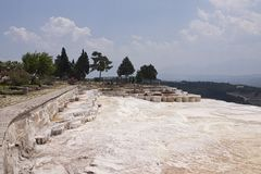 Pamukkale Royalty Free Stock Photography