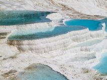 Pamukkale baseny obrazy royalty free