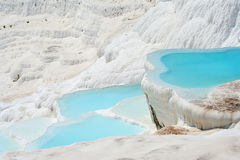 Pamukkale basins Stock Images