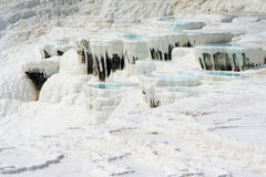 Pamukkale basins Stock Photos