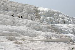 Pamukkale: Calcium terraces Stock Photos